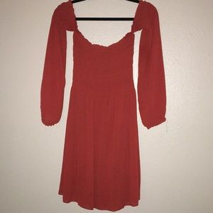 🌼5 for $20🌼 off Shoulder red dress